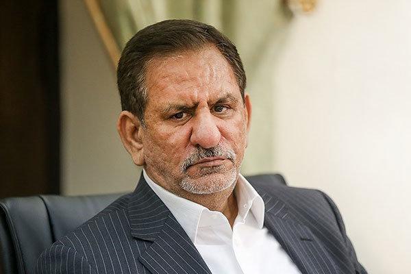 جهانگیری:اگرحل مسئله ایران با قدرت های دنیا افتخار نیست، لابد فشار روی ملت افتخار است