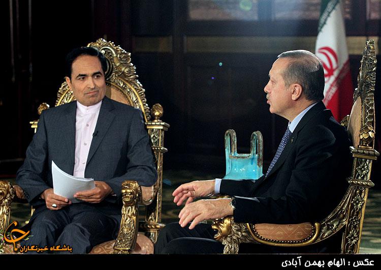 اظهارات اردوغان در گفتگوی خبری درمورد سوریه،بحرین و فناوری هسته ای ایران