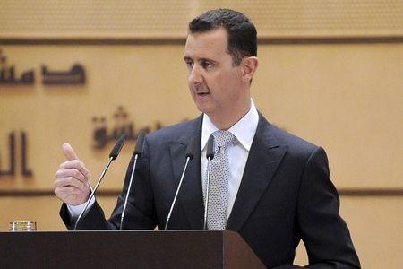 سخنان تند اسد علیه اردوغان و اخوان در مراسم تحلیف
